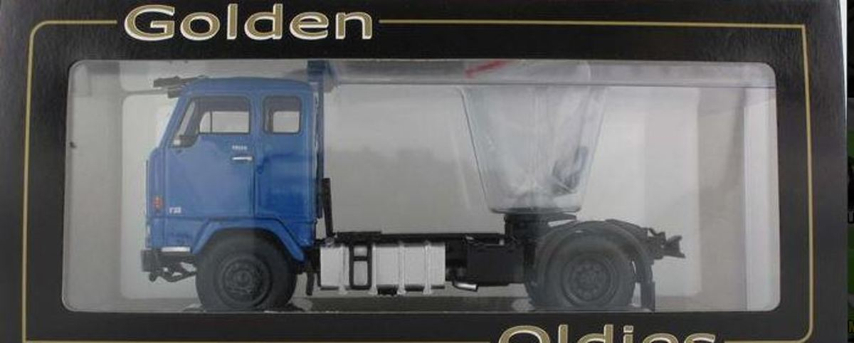 Volvo F-88 1:50 Golden Oldies Blauw BEV-1057