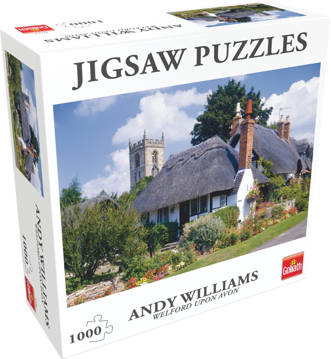 Andy Williams - Welford upon Avon - Legpuzzel, van Goliath