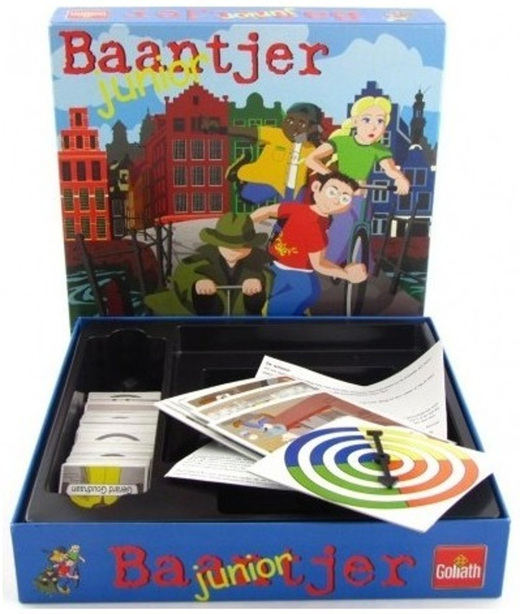 Baantjer Junior bordspel- Goliath-