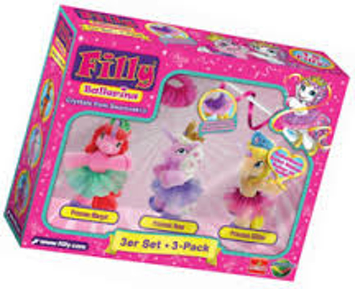 Filly 3 in 1 set ass.