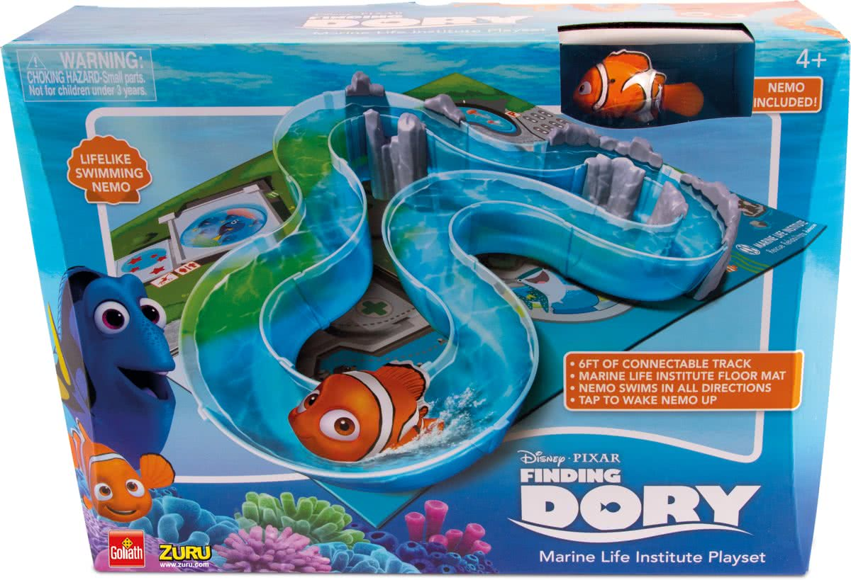 Finding Dory Marine Life Institute Playset