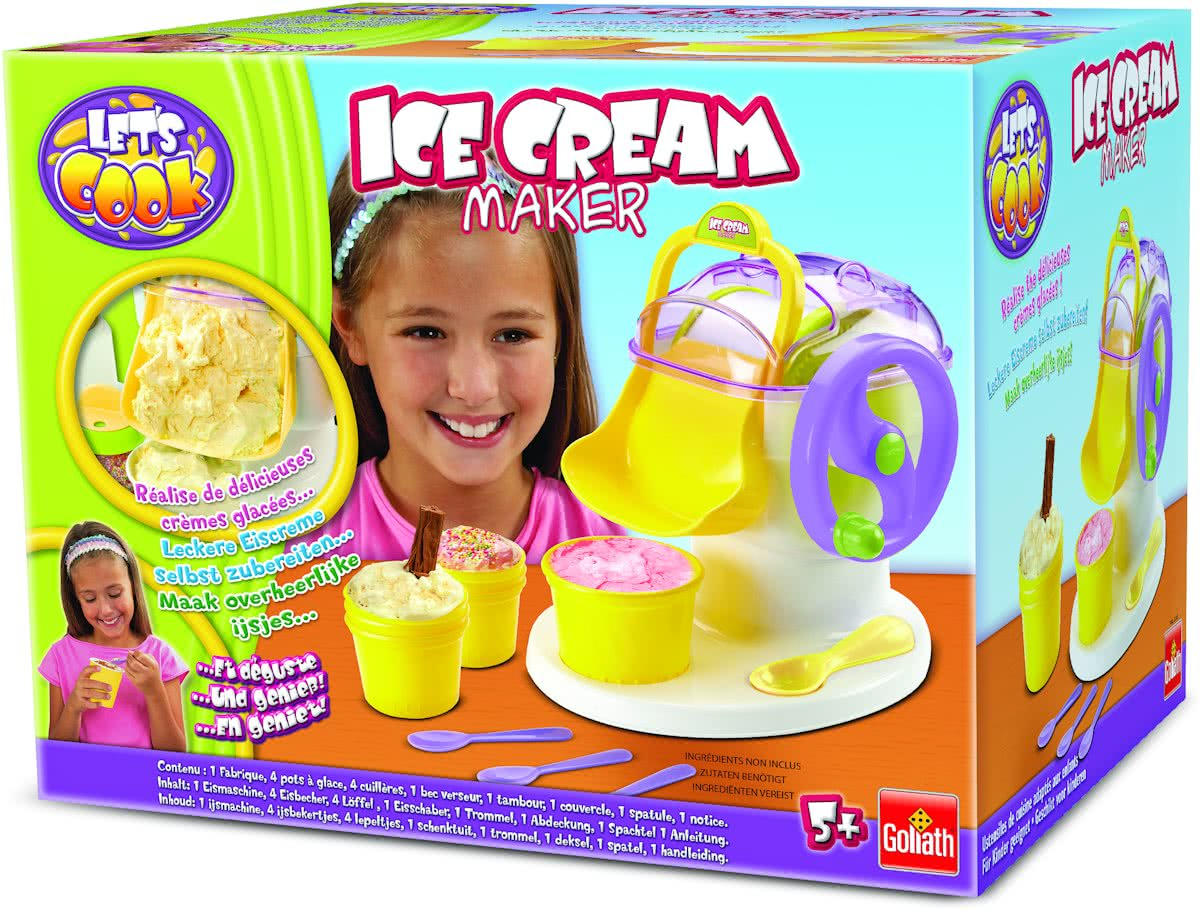 Lets Cook Ice Cream Make