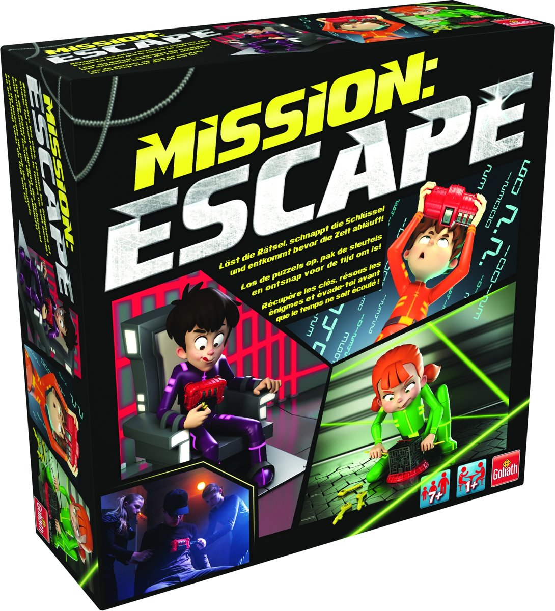 Mission Escape - Kinderspel - Goliath