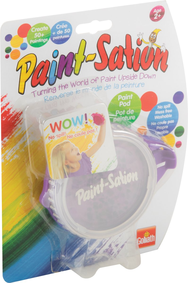 Paint-Sation - Navulling Paars - Goliath