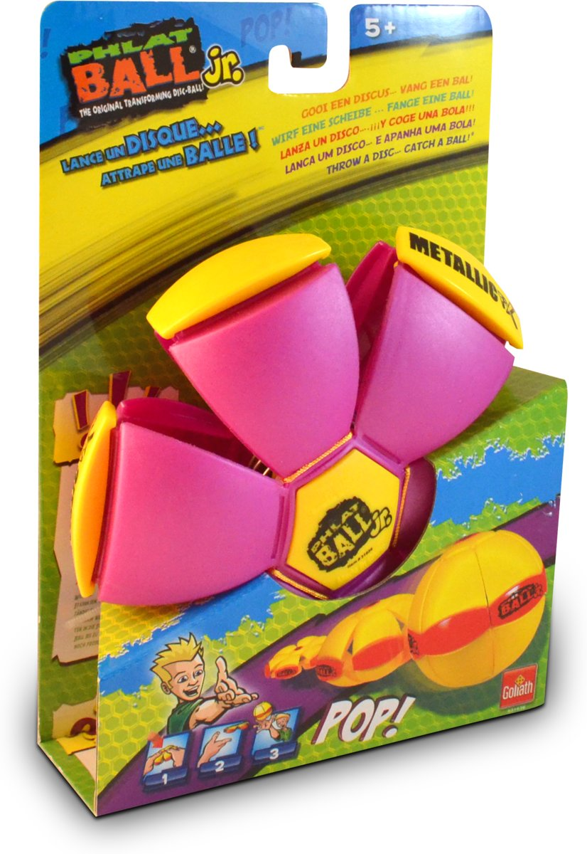 Phlat Ball Junior - Metallic Paars - Goliath