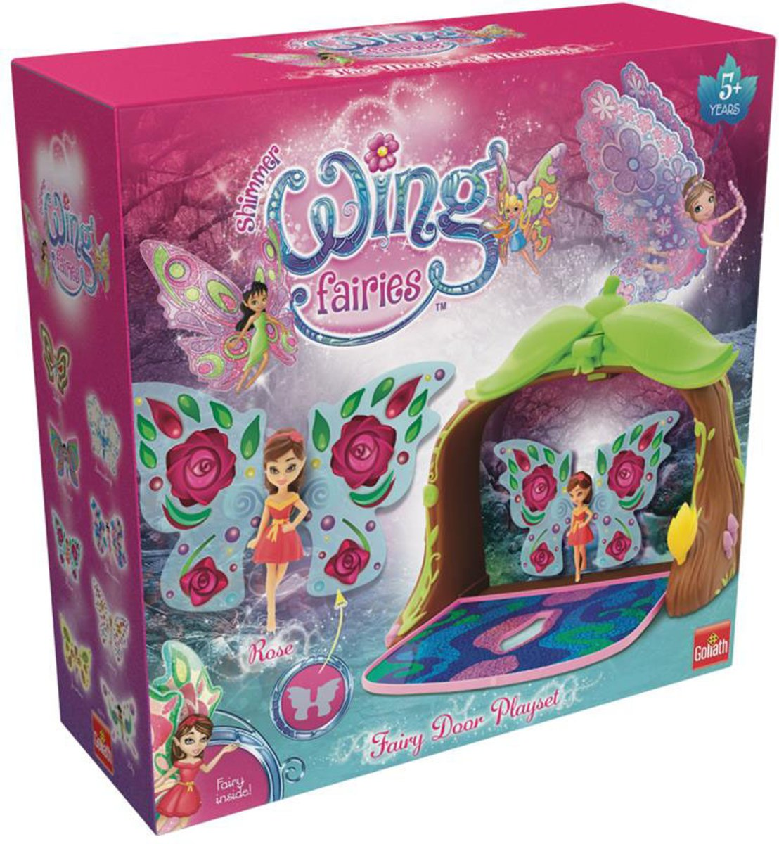 Shimmer Wing Fairies, Fairy Doors Playset (ML)
