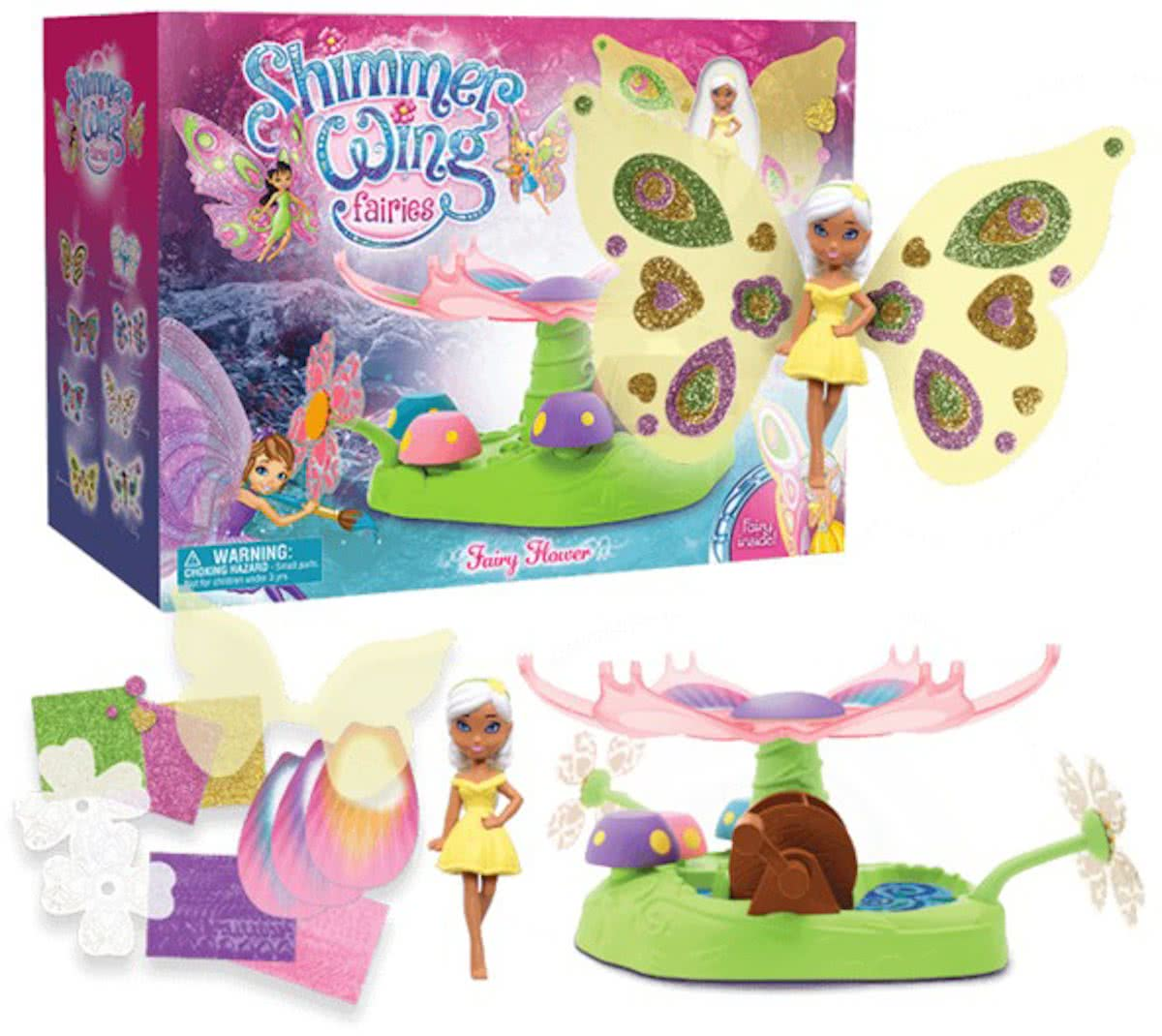 Shimmer Wing Fairies, Fairy Garden Playset