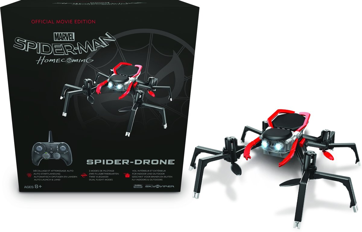 Sky Viper Drone - Spiderman
