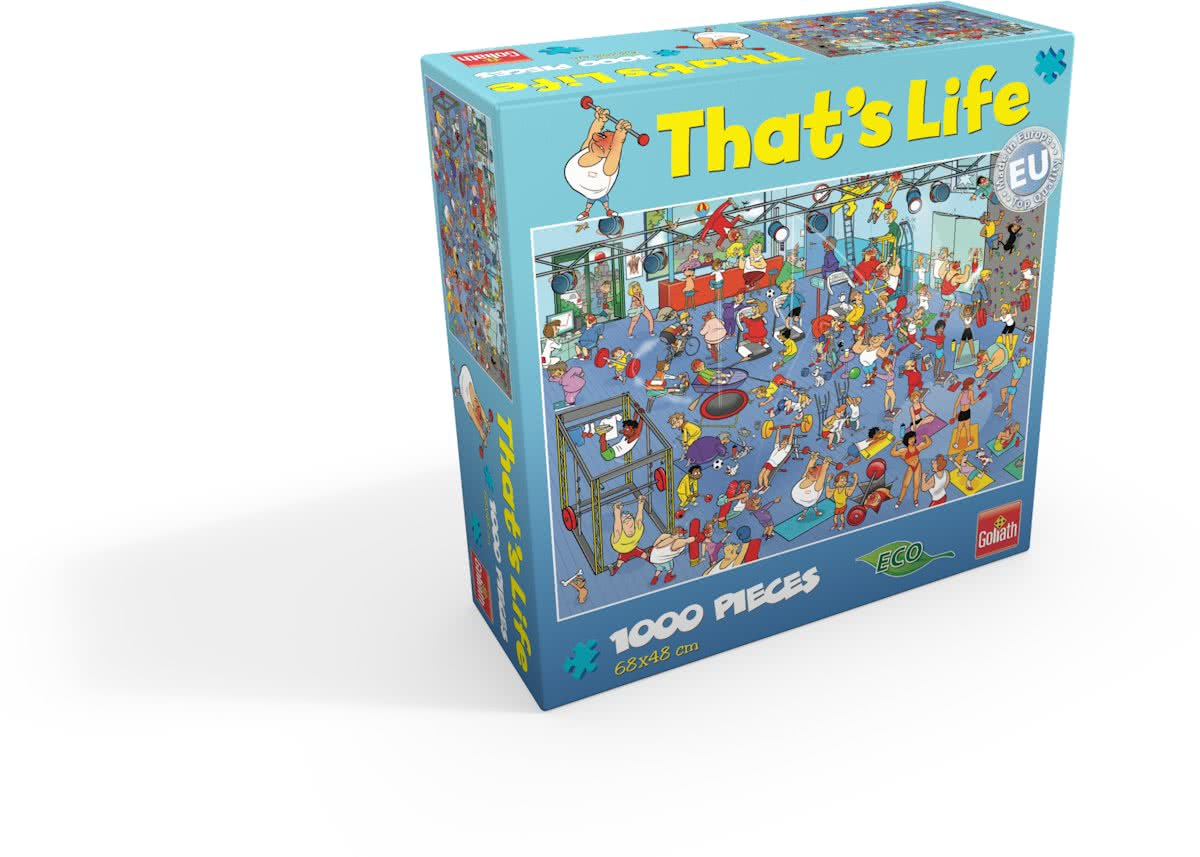 Thats life 1000pcs The Gym sportschool