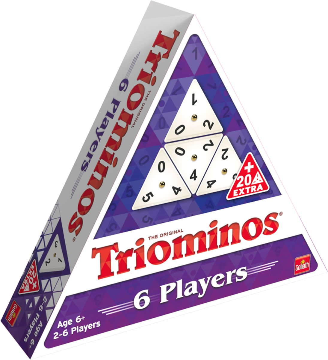 Triominos The Original - 6 Spelers - Familiespel