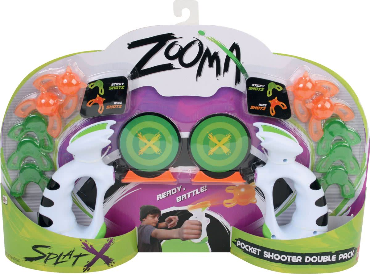 Zooma Pocket Shooter Double Pack