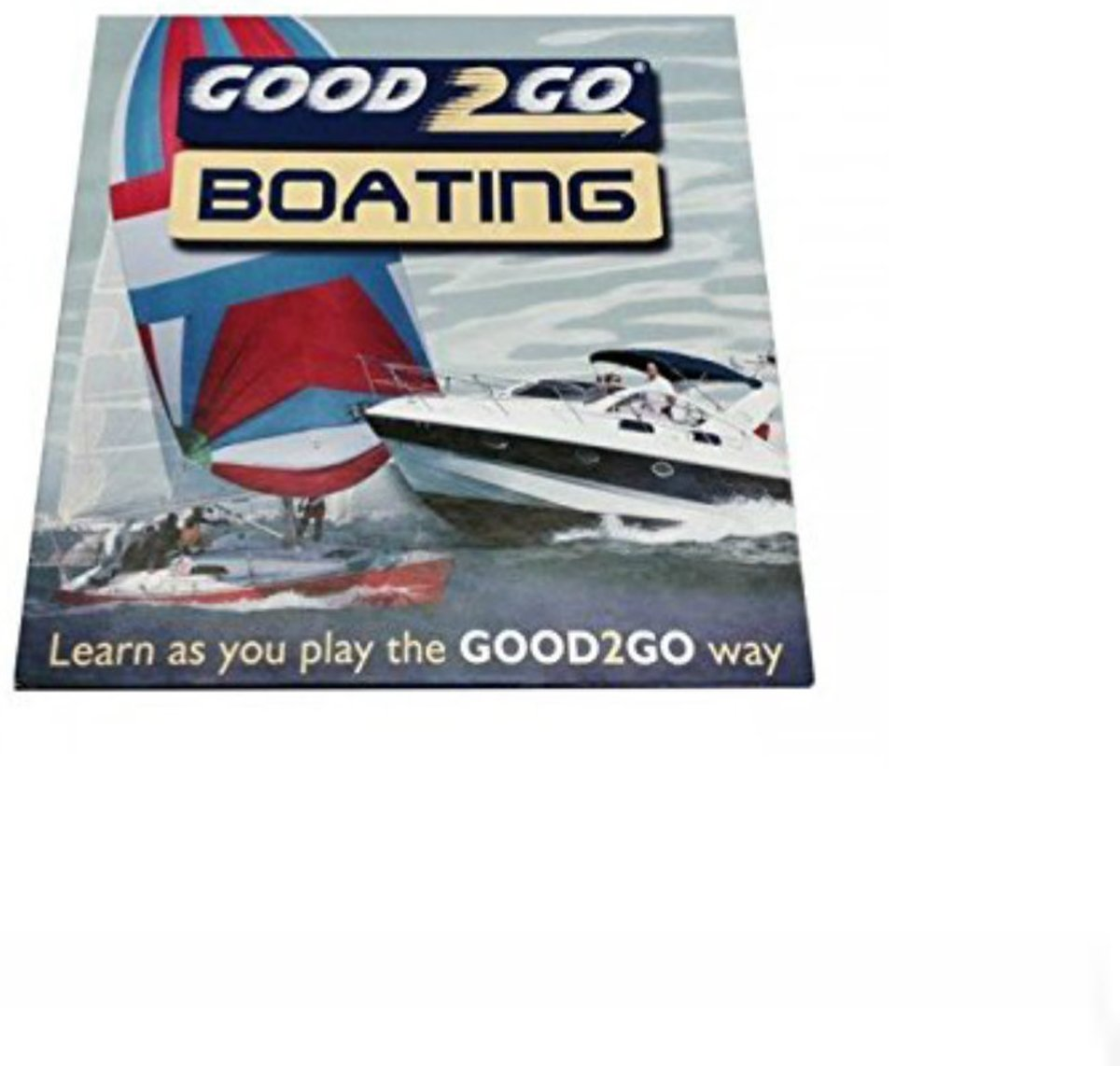 Boot spel game Good 2 go boating thema nautical maritiem