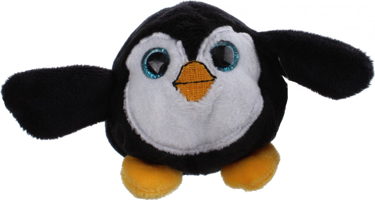 Gosh! Designs Pluchen Dinkies Pinguin 7 Cm Zwart/wit