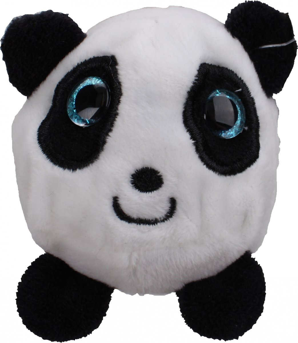 Gosh! Designs Pluchen Dinkies Zoo Panda 7 Cm Zwart/wit