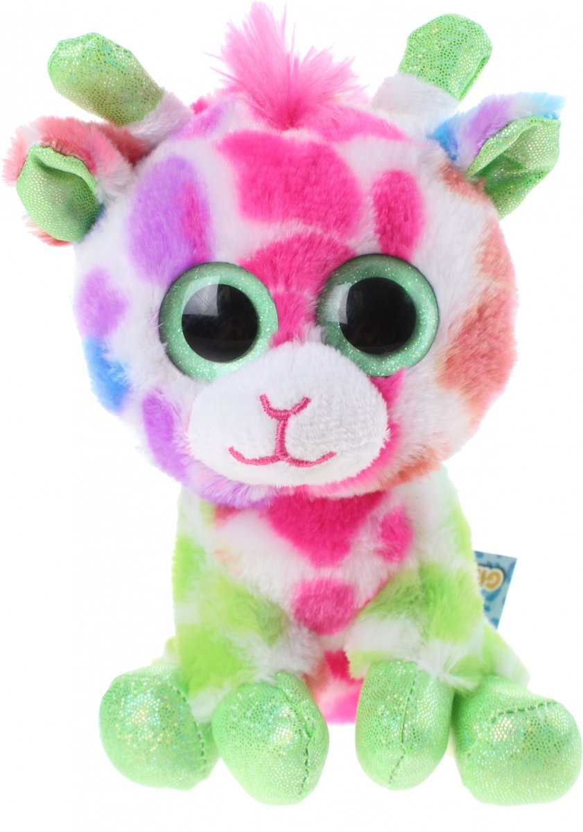 Gosh! Designs Pluchen Knuffel Giraffe 15 Cm Junior