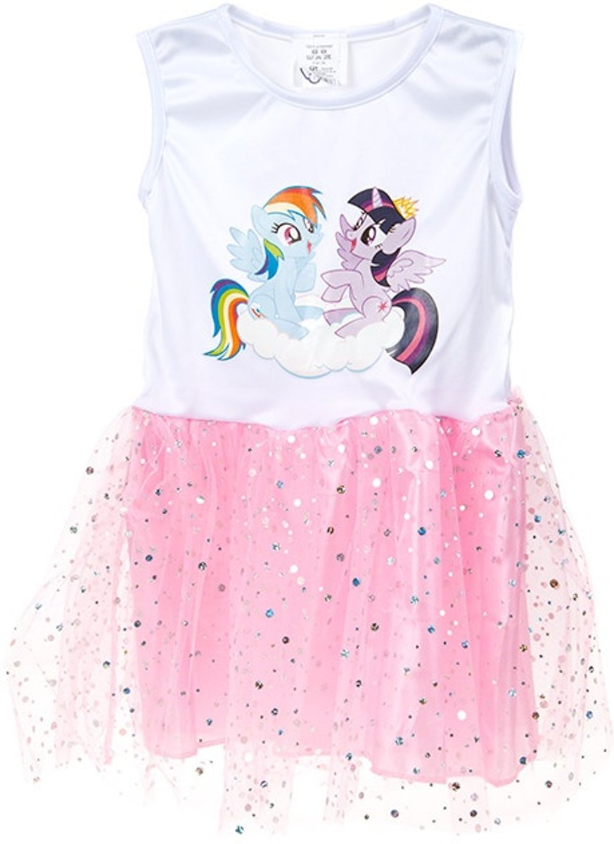Gosh! Designs Tutu-jurk My Little Pony Meisjes Wit/roze One Size