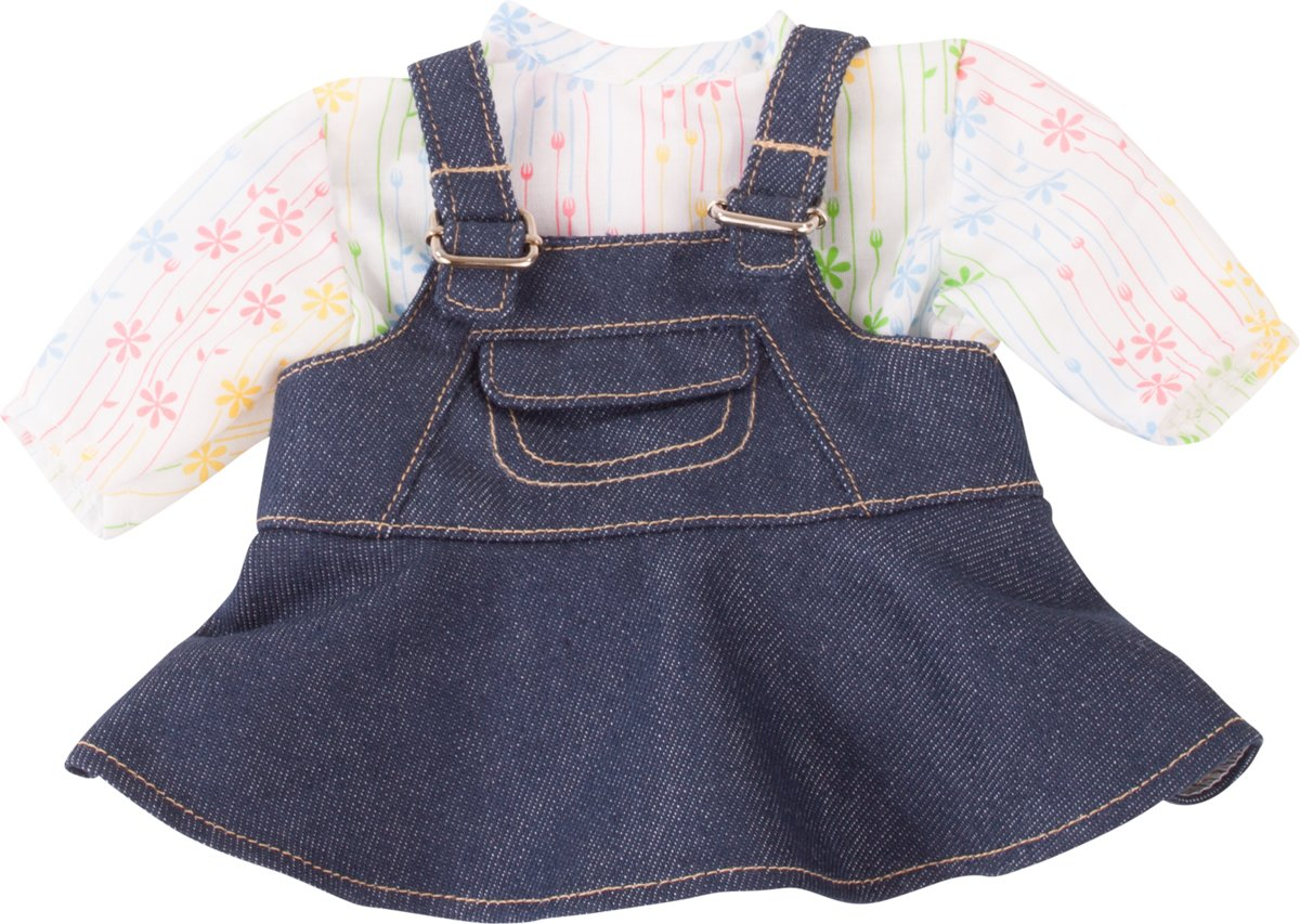 Götz accessoires Combination baby dolls, denim groove, 2-pcs. - maat S
