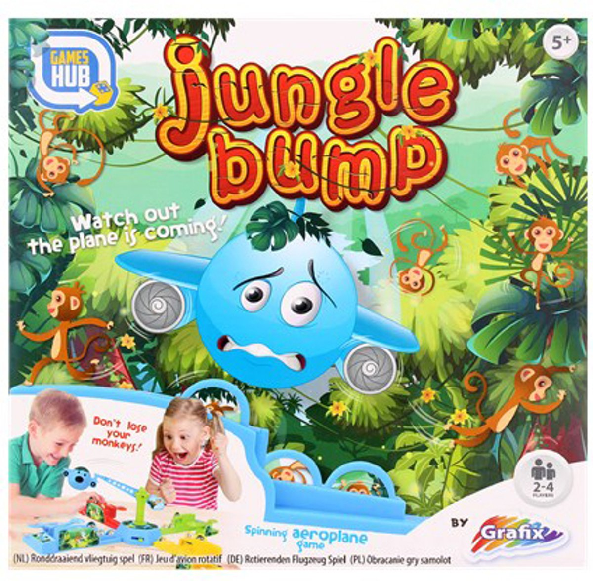 Jungle Bump - Variant van Stef Stuntpiloot