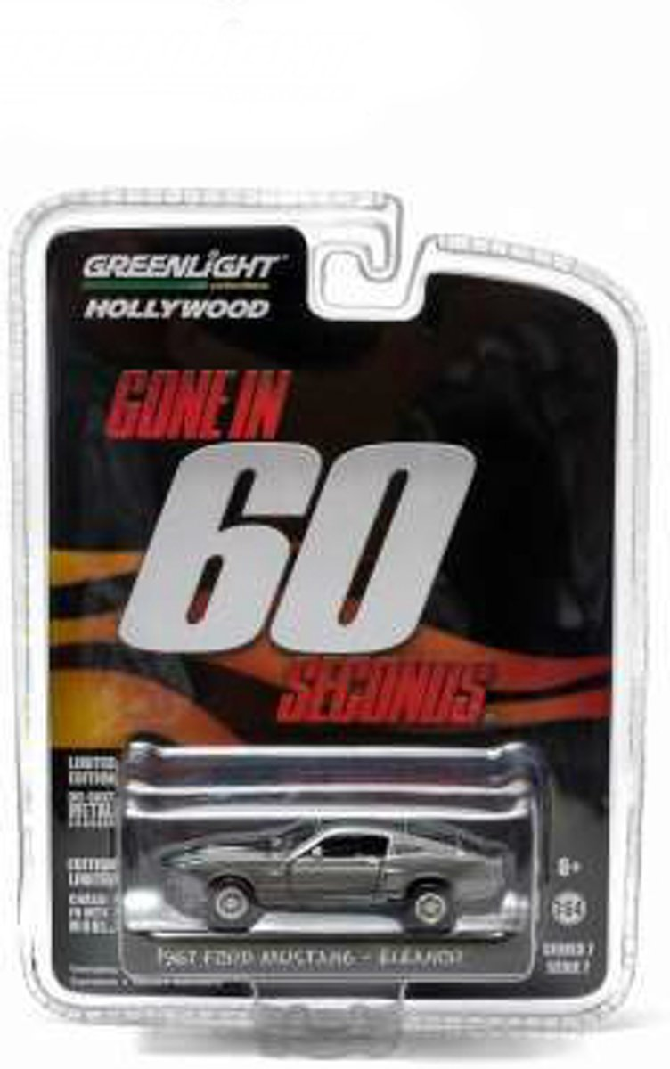 Greenlight Hollywood Serie: Gone in 60 Seconds - 1967 Ford Mustang