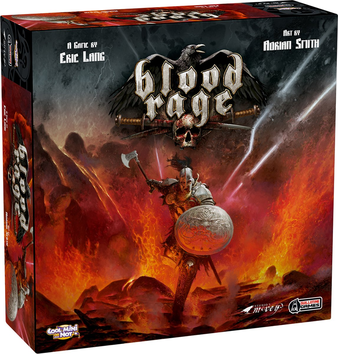 Blood Rage Engels Bordspel
