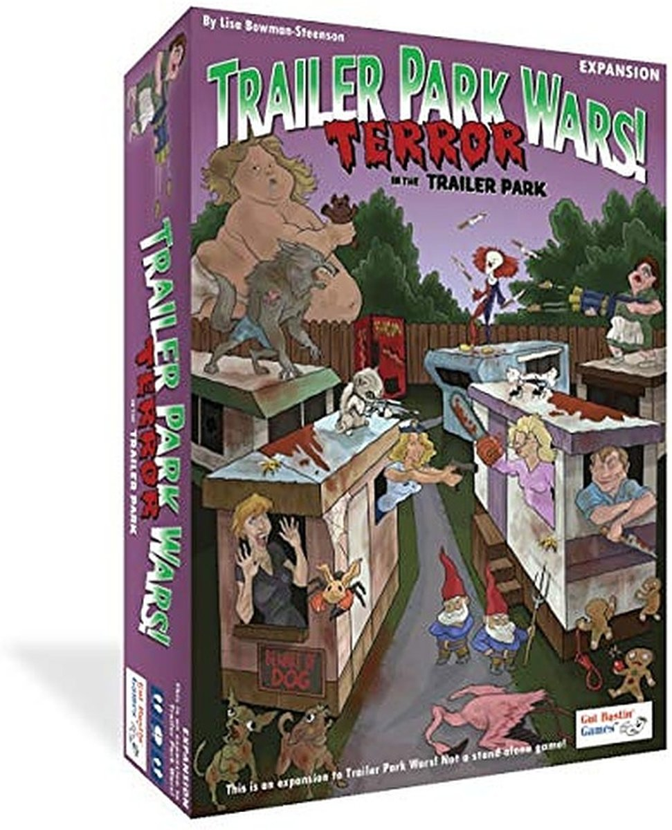 Trailer Park Wars! Expansion: Terror in the Trailer Park