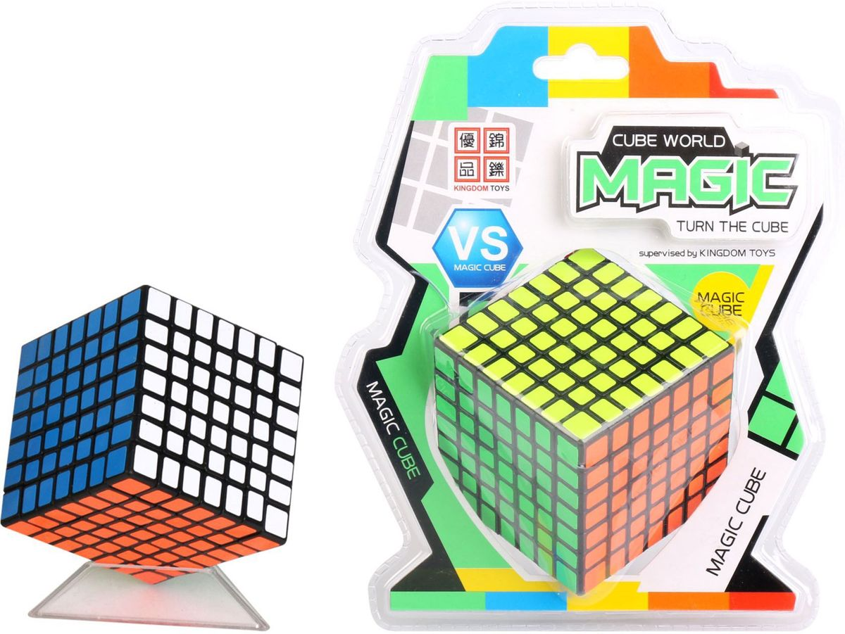 Breinbreker IQ Puzzle Magic 49x49x49 Kubus, HOT Games