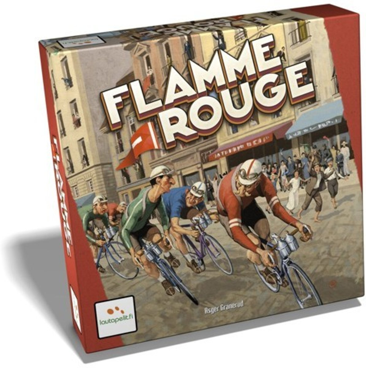 Flamme Rouge Wielrenspel
