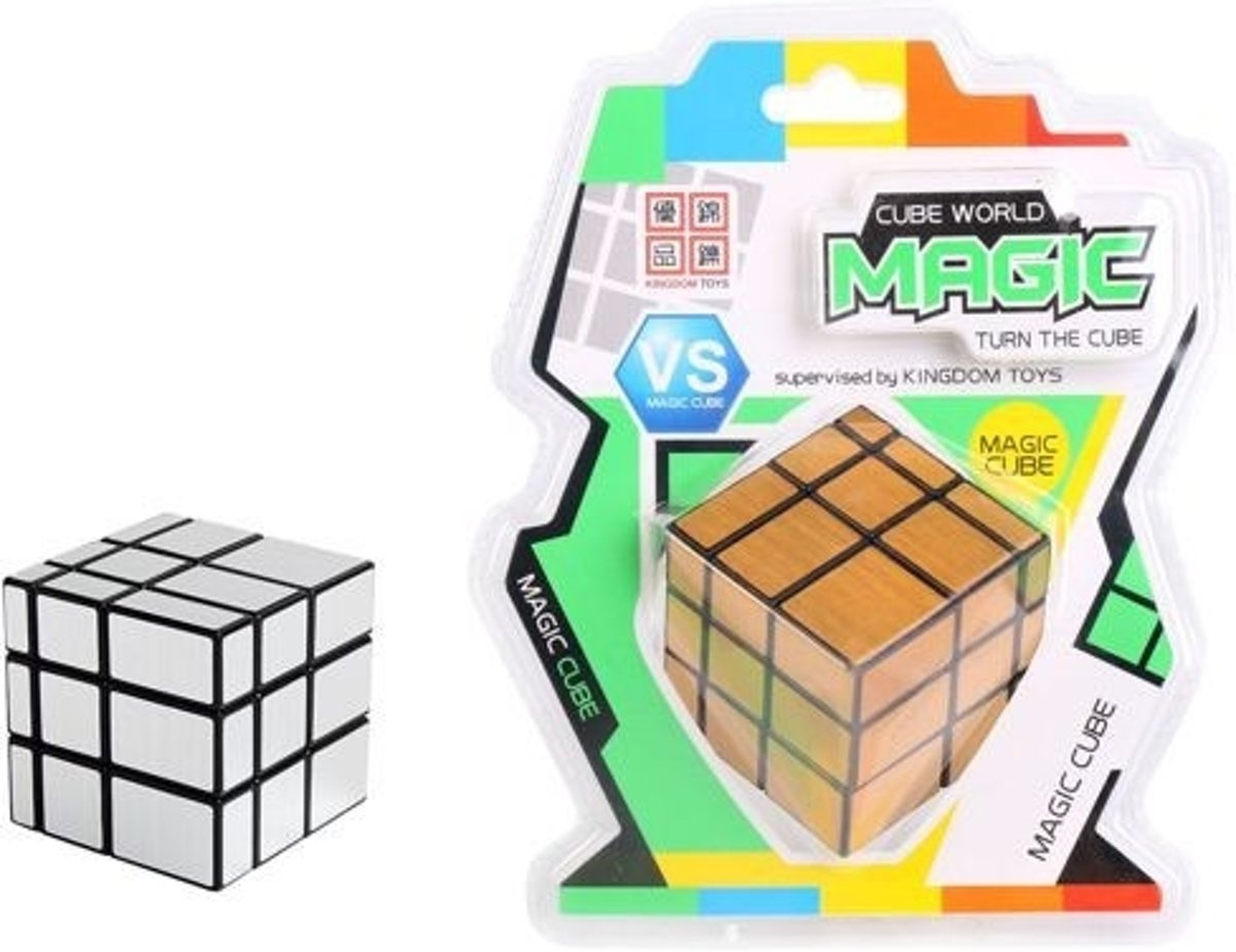 IQ Puzzel Magic 9 x 9 x 9 Gold/Silver Kubus, HOT :: HOT Games