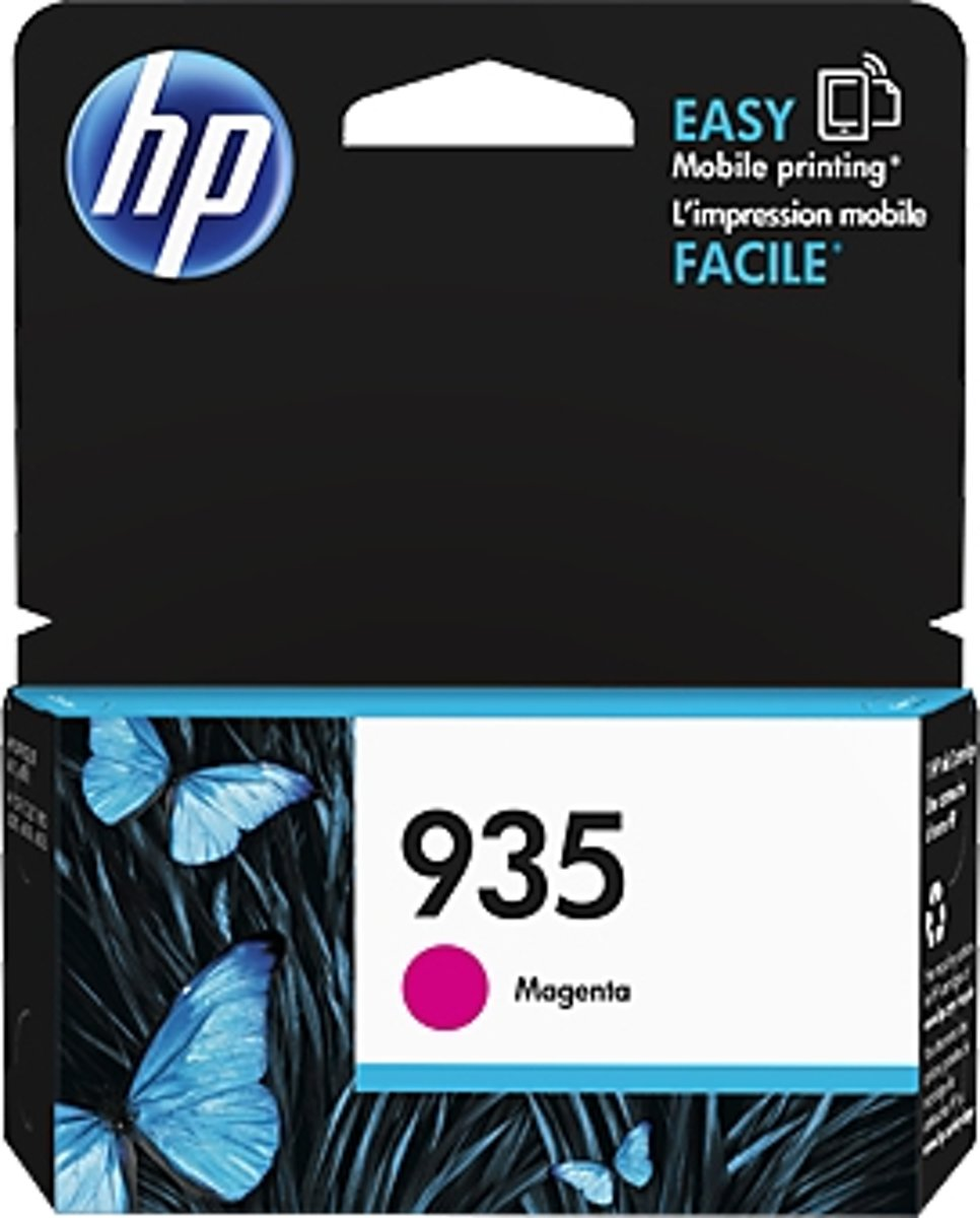 HP 935 inktcartridge Original Magenta 1 stuk(s)