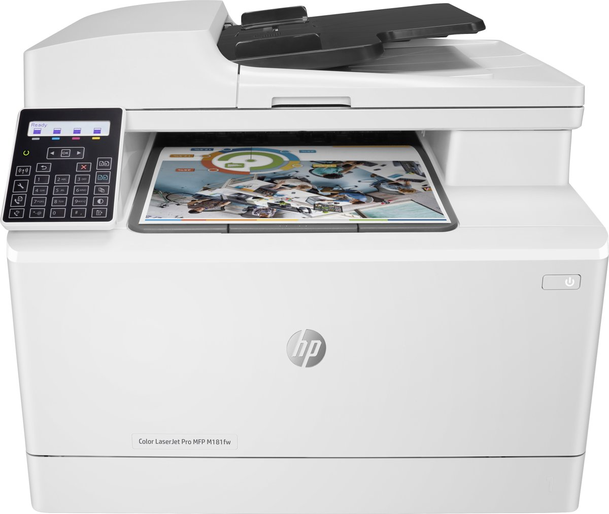 Color LaserJet Pro MFP M181fw - All-in-One printer