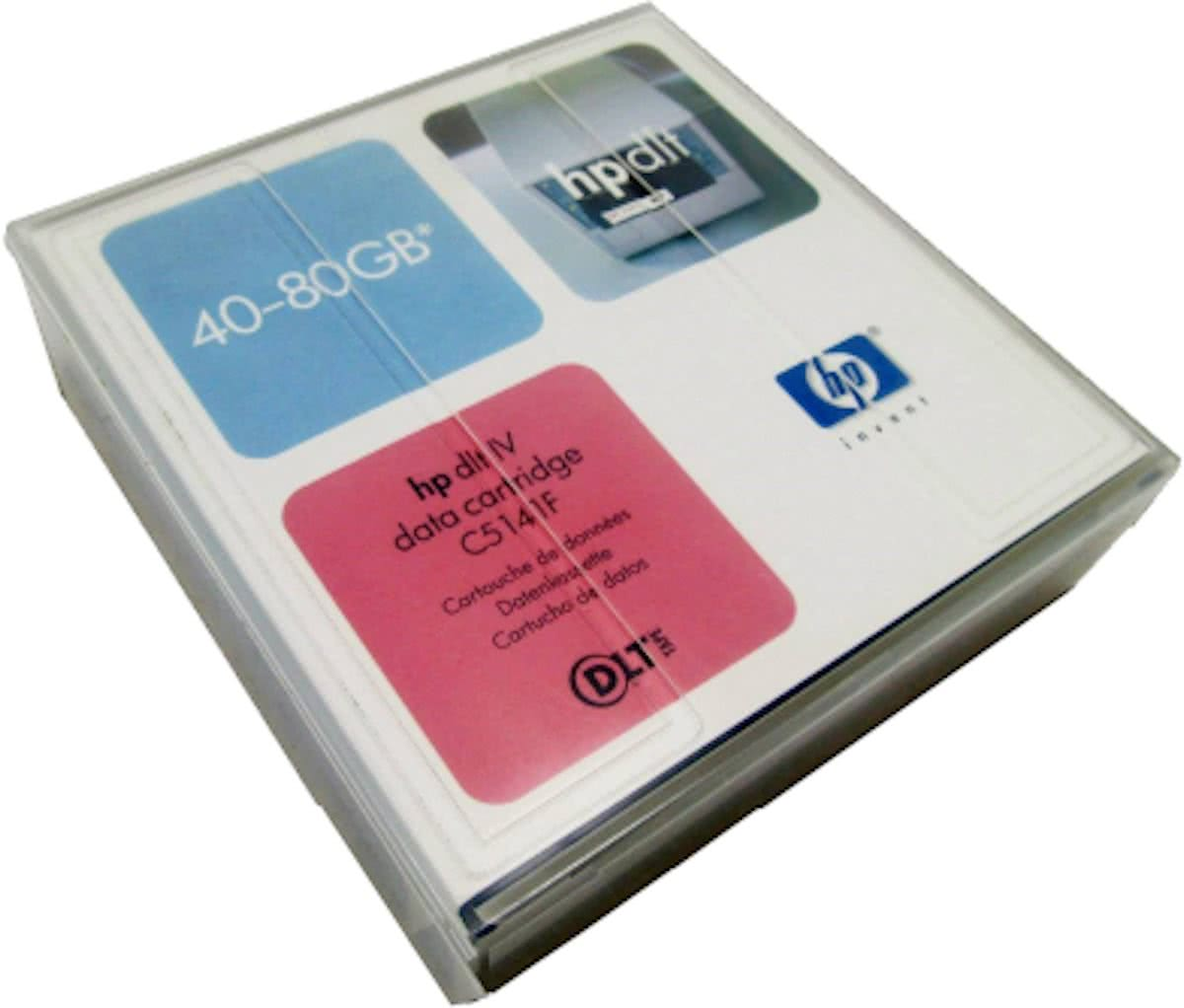 Data Cartridge DLT IV 40-80GB Nativecapacity of 20GB in a DLT 4000 tape drive