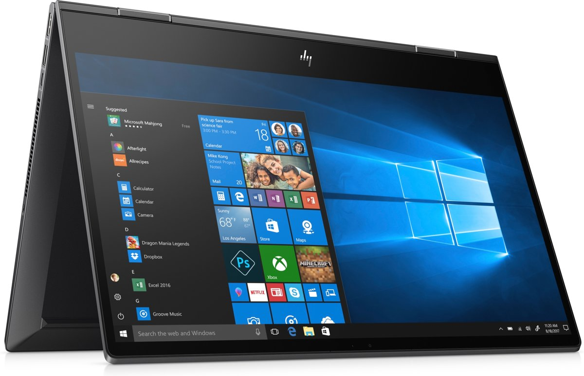 HP ENVY x360 15-ds0500nd - 2-in-1 Laptop - 15.6 Inch
