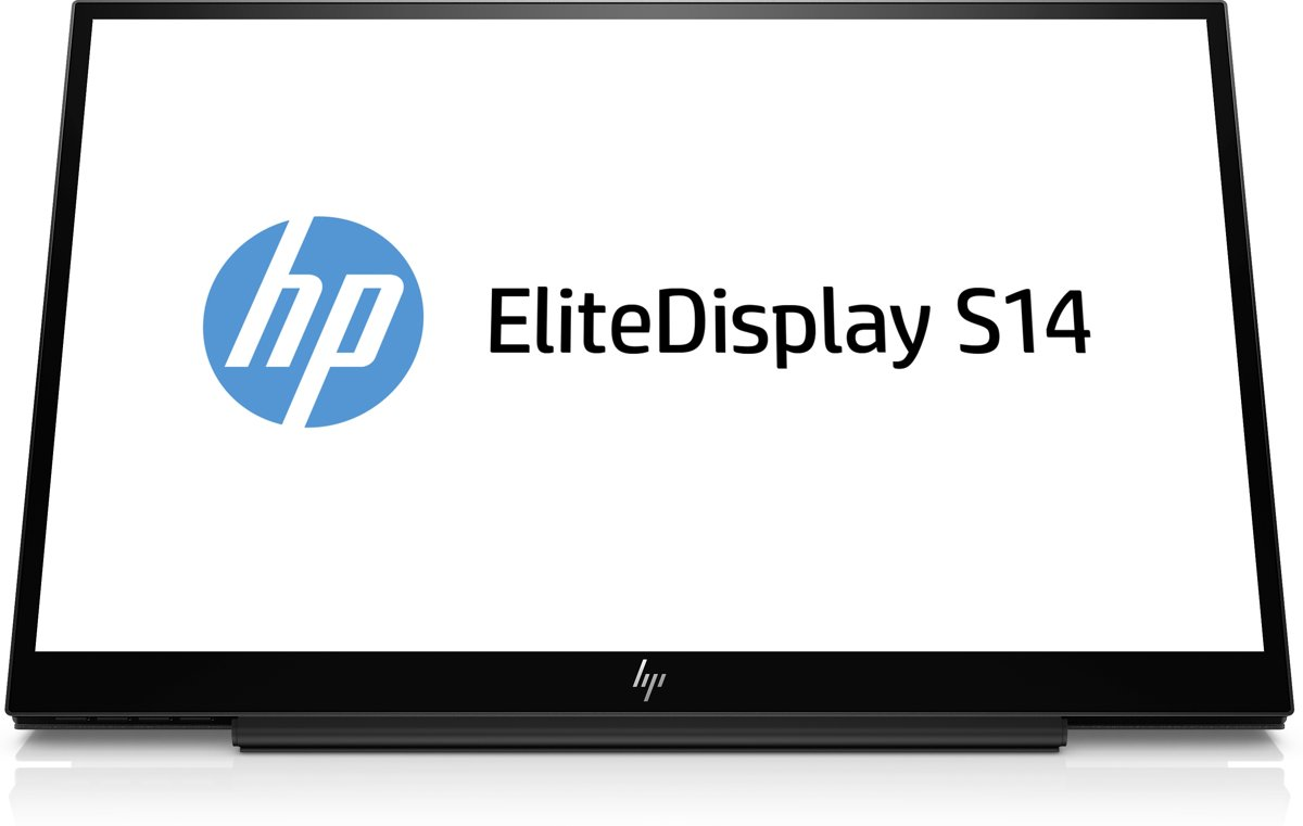EliteDisplay S14 14 Full HD LED Mat Flat Zwart computer monitor