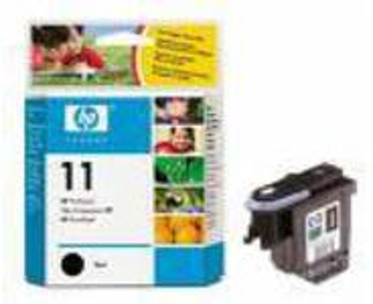 HP Inc C4810A HP Print head No11 Black