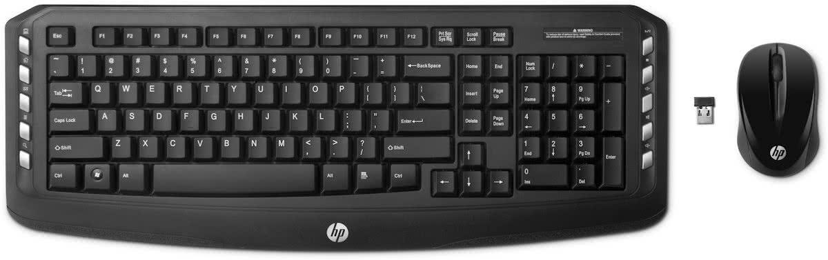 hp lv290aa draadloos toetsenbord draadloze muis zwart