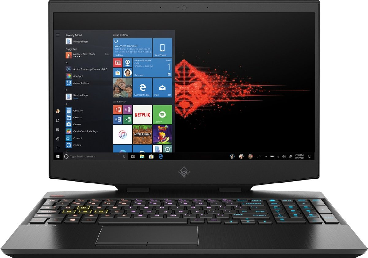 HP OMEN 15-dh0600nd - Gaming Laptop - 15.6 Inch (144 Hz)