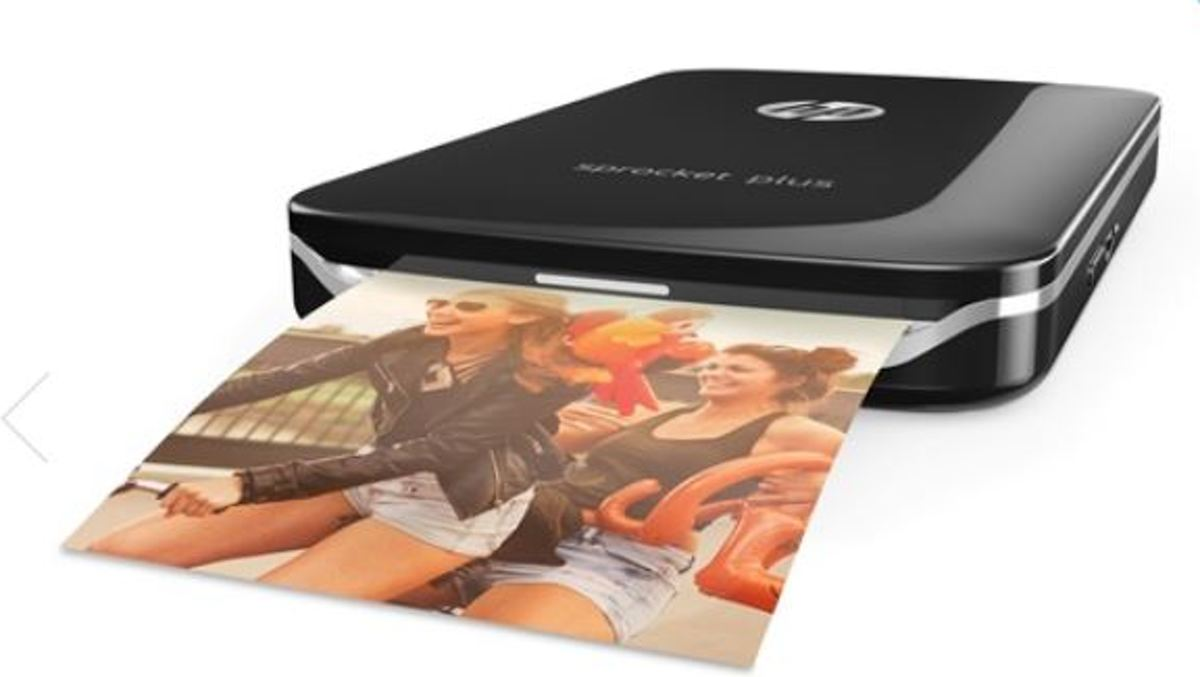 Sprocket Plus - Mobiele Fotoprinter - Zwart