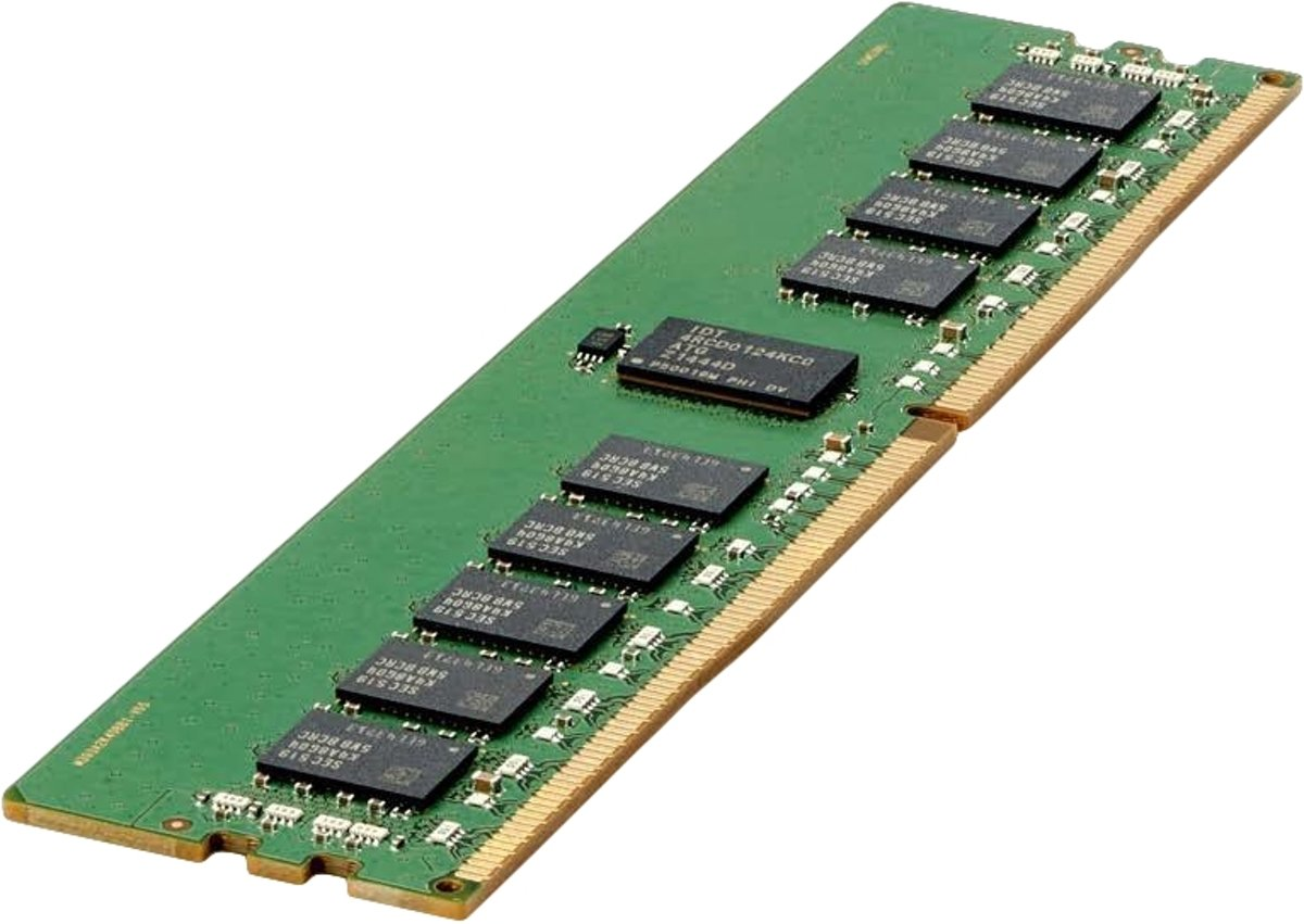 Hewlett Packard Enterprise 16GB (1x16GB) Single Rank x4 DDR4-2666 CAS-19-19-19 Registered 2666MHz ECC geheugenmodule