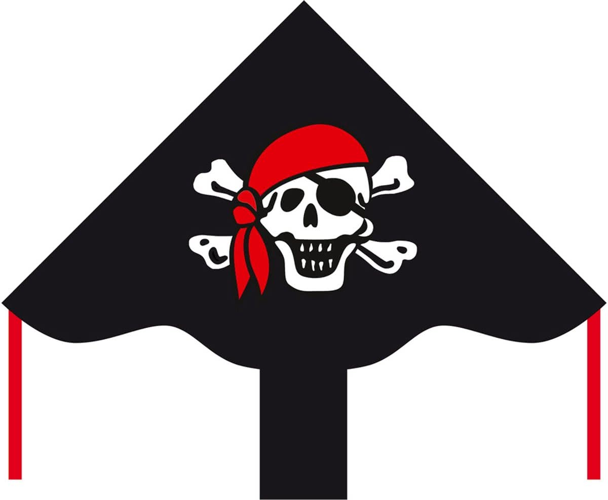 Eco Line Simple Flyer Jolly Roger 85cm