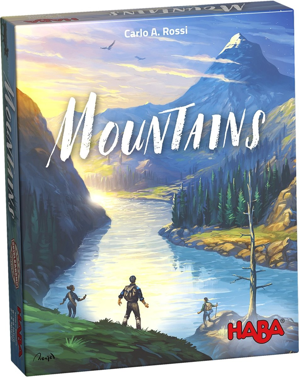 Haba - Spel - Mountains - 8+