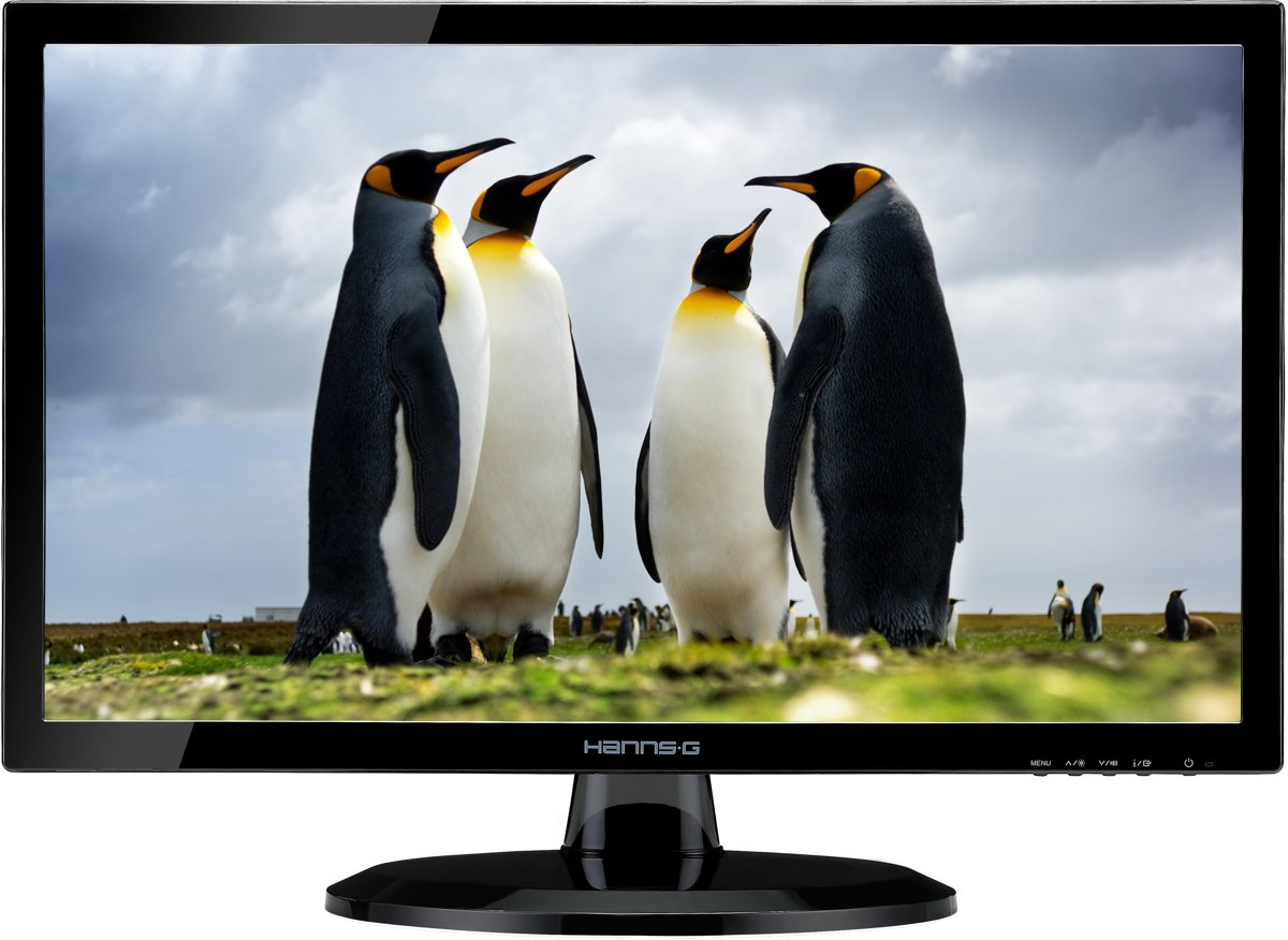 Hanns.G HE247DPB LED display 59.9 cm (23.6) Full HD Black