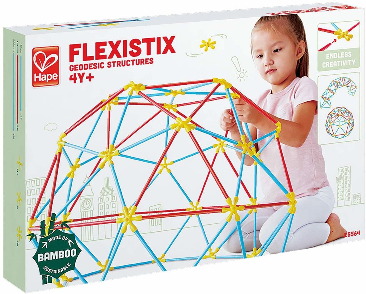 Hape-Flexistix geodesic structures