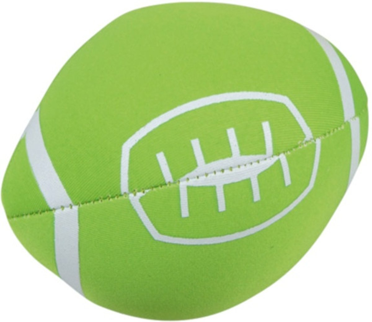 Splashbal Football 13 Cm Foam Groen