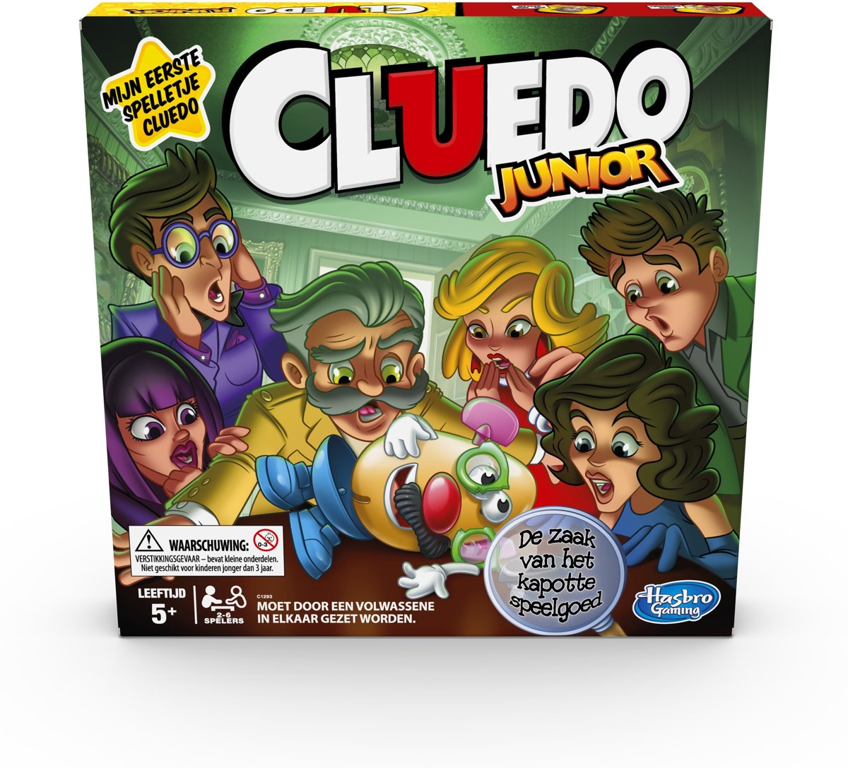 Cluedo Junior - Bordspel