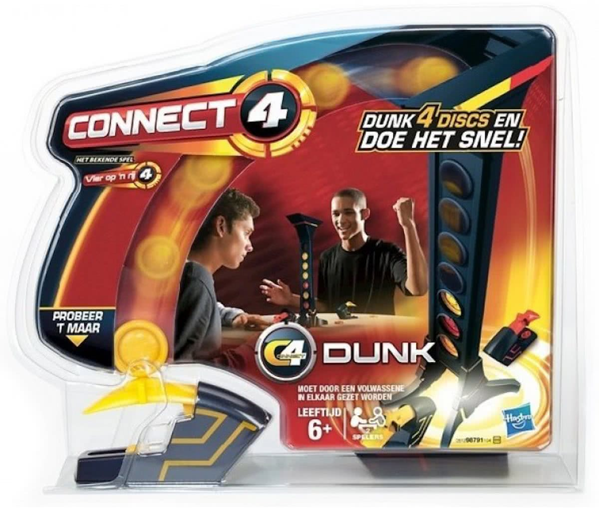 Connect 4 Dunk - Gezelschapsspel