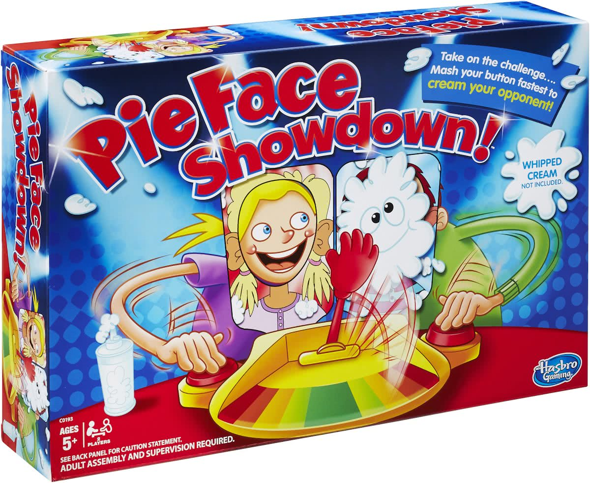 Pie Face Showdown - Gezelschapsspel