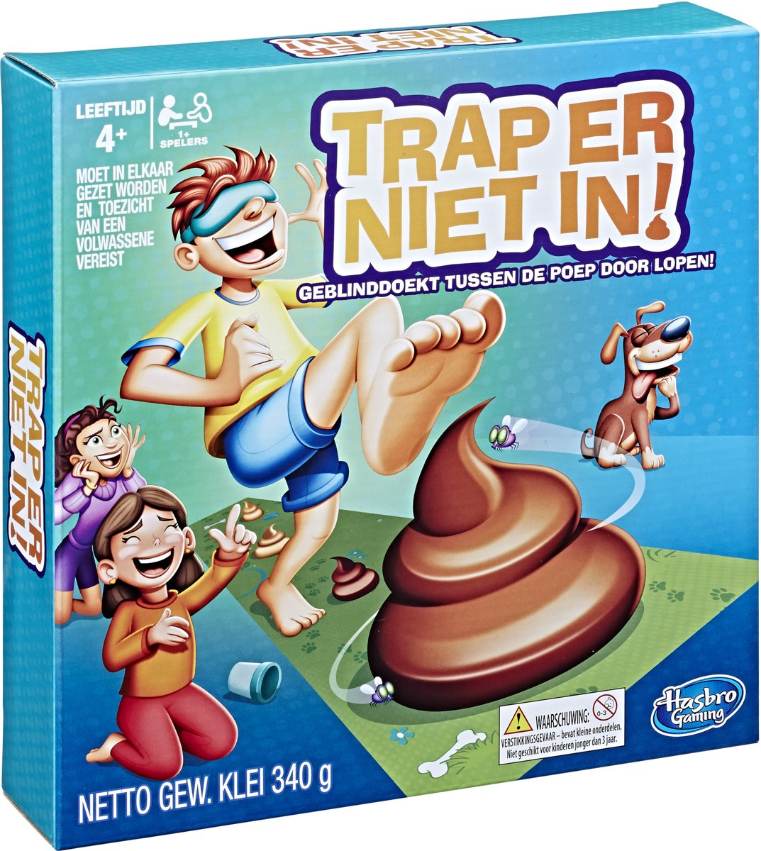 Trap er niet in! - Kinderspel