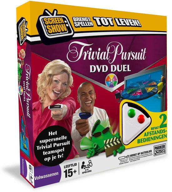Trivial Pursuit DVD Duel - Bordspel