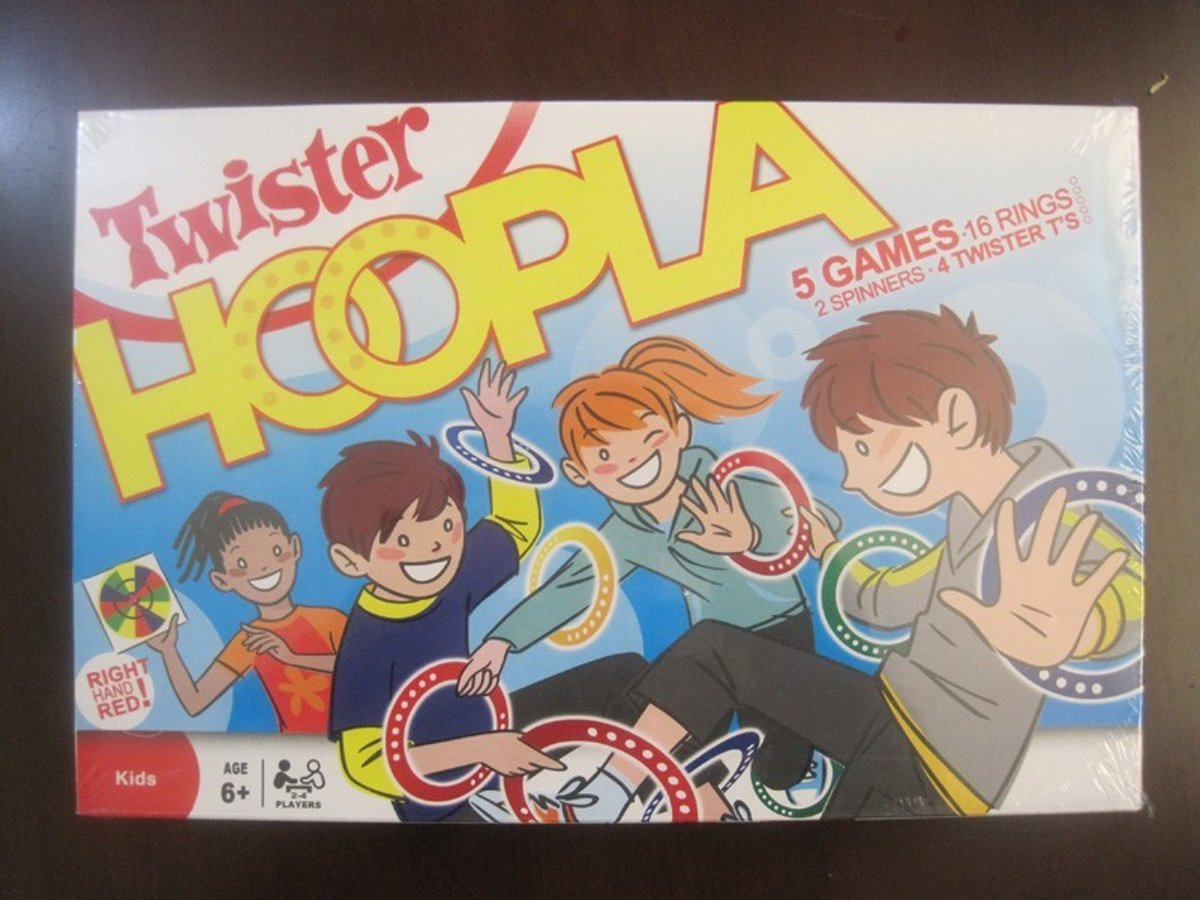 Twister Hoepla - Kinderspel