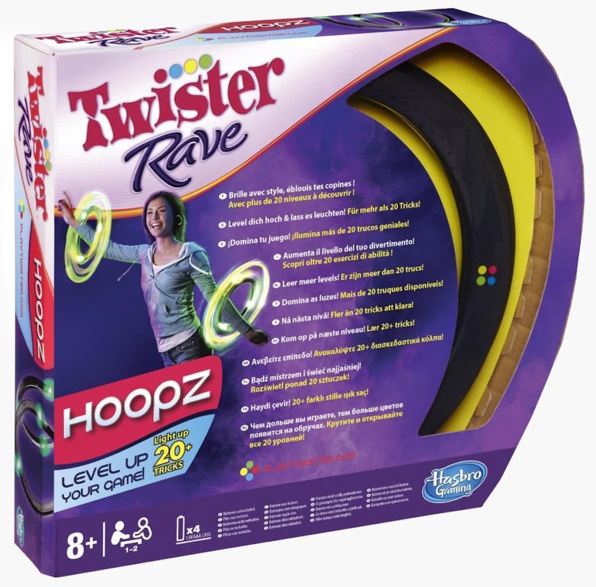 Twister Rave Hoopz - Kinderspel